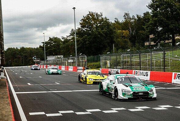 Nico Müller war am Sonntag in Zolder mächtig angefressen - Foto: Audi