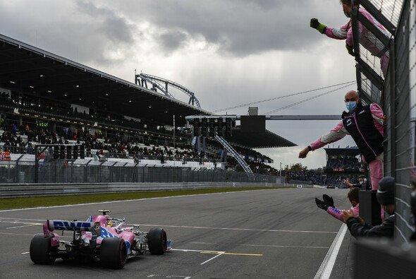 Racing Point feierte Nico Hülkenberg für den nächsten starken Aufritt als Edelreservist - Foto: LAT Images