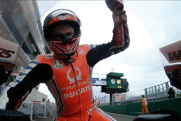 Jack Miller war nach seinem Ausfall stinksauer - Foto: Screenshot/MotoGP