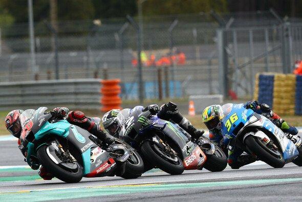 Quartararo, Vinales und Mir kämpften in Le Mans nur um P9 - Foto: LAT Images