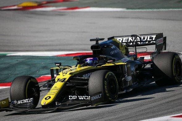 Fernando Alonso testete in Barcelona den aktuellen Renault R.S.20 - Foto: Renault F1 Team