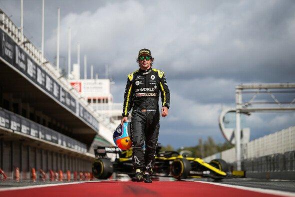 Alonsos Teilnahme beim Young Drivers Test in Abu Dhabi steht nichts mehr im Weg - Foto: Renault F1 Team
