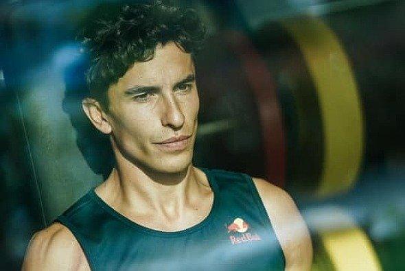 Marc Marquez betreibt wieder Krafttraining - Foto: LAT Images
