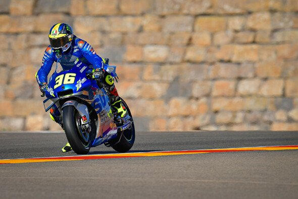Joan Mir brachte sich in Aragon in eine gute Ausgangsposition - Foto: MotoGP.com