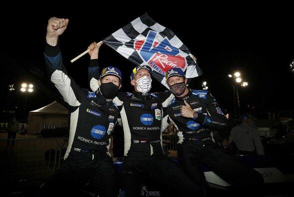 Ryan Briscoe, Renger Van der Zande und Scott Dixon triumphieren für Wayne Taylor Racing in Road Atlanta - Foto: LAT Images