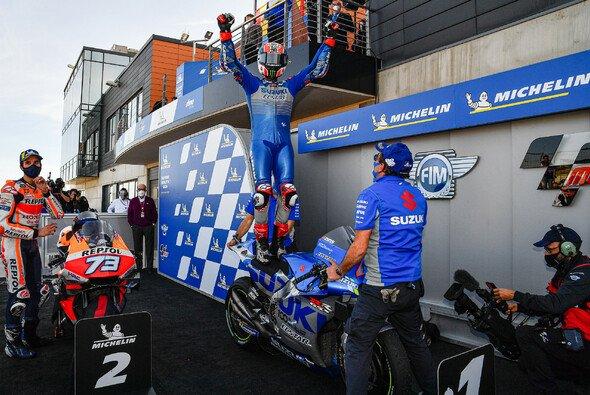 Alex Rins holte seinen ersten Saisonsieg - Foto: MotoGP.com