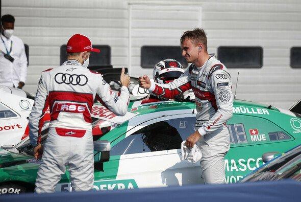 Rene Rast, Nico Müller und Robin Frijns sagen 24 Stunden von Spa ab - Foto: DTM