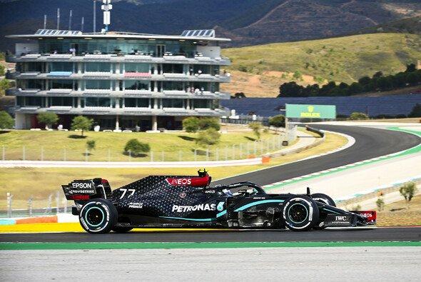 Valtteri Bottas sicherte sich die Bestzeit im 1. Freien Training zum Portugal GP 2020 - Foto: LAT Images