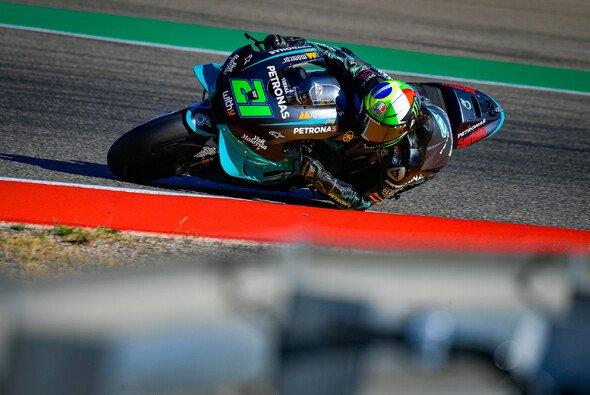 Franco Morbidelli holt die Bestzeit - Foto: MotoGP.com