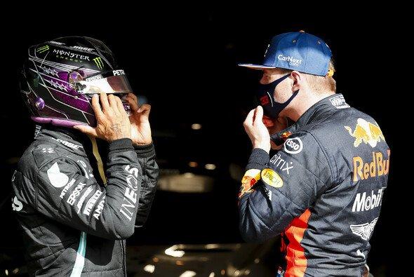 Max Verstappen ist beim Formel-1-Rennen in Portugal einmal mehr Mercedes' größter Gegner - Foto: LAT Images