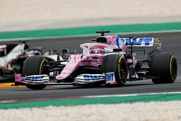 Sergio Perez machte seine Aufholjagd im Formel-1-Rennen in Portugal zum Driver of the Day - Foto: LAT Images