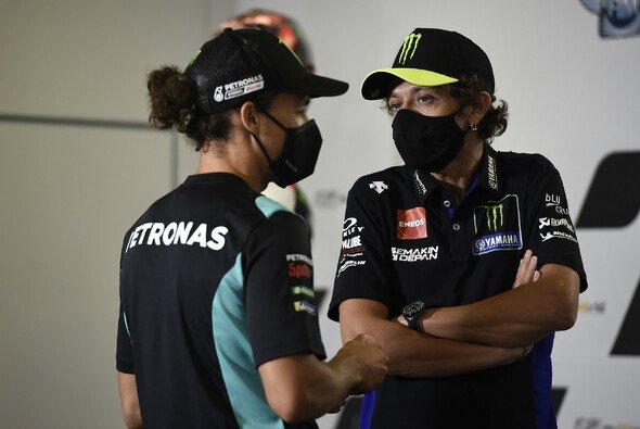2021 Teamkollegen: Franco Morbidelli und Valentino Rossi - Foto: LAT Images