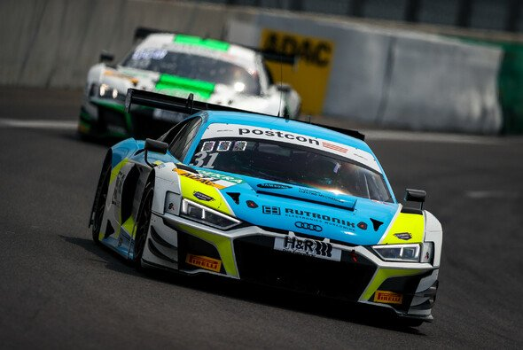 Tabellenführer: die Audi-Piloten Patric Niederhauser und Kelvin van der Linde - Foto: ADAC Motorsport