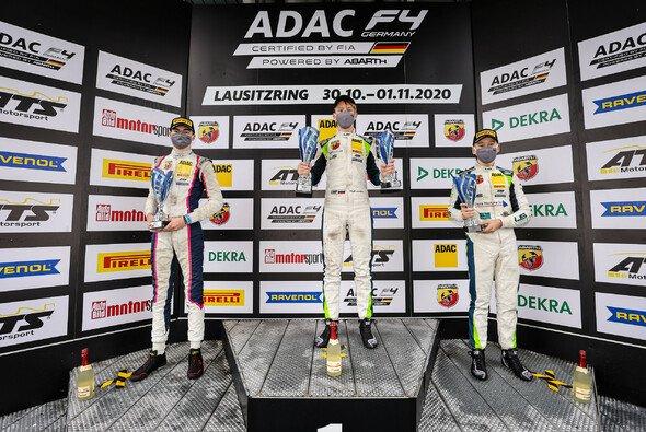 Lomko (M.) siegt in der Lausitz vor Bernier (l.) und Seppänen - Foto: ADAC Motorsport