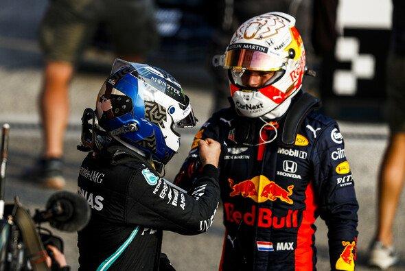 Valtteri Bottas steht auf Pole, Max Verstappen will in Imola Anschluss halten - Foto: LAT Images