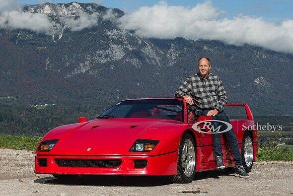 Gerhard Berger bietet seinen Ferrari F40 zum Kauf an - Foto: RM Sothebys
