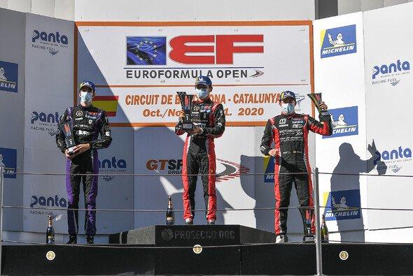 In Barcelona hat Niklas Krütten die Rookie-Meisterschaft der Euroformula Open gewonnen - Foto: Fotospeedy