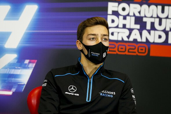 George Russell philosophiert nach seinem Unfall in Imola über Racing als solches - Foto: LAT Images