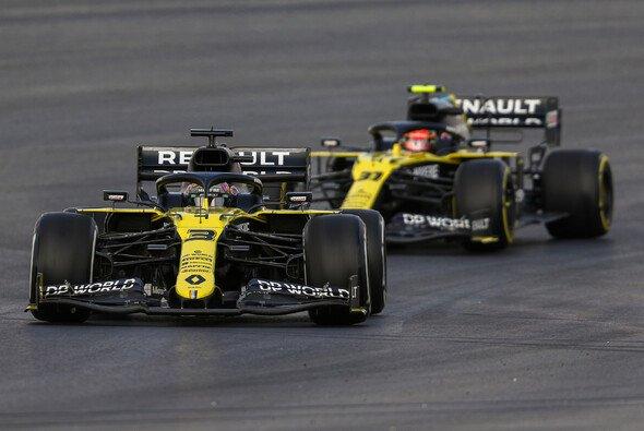 Daniel Ricciardo und Esteban Ocon taten sich am Freitag in der Türkei noch schwerer als die Konkurrenz - Foto: LAT Images
