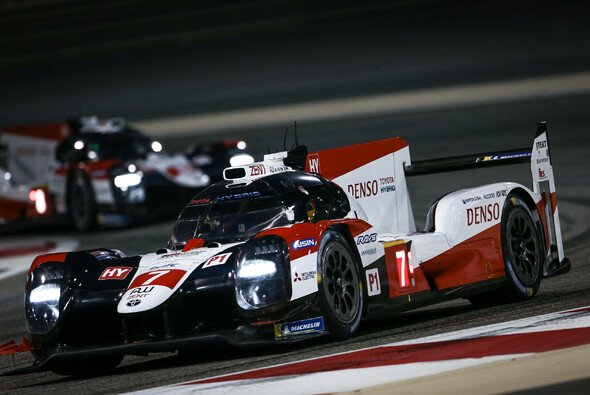 Der Toyota #7 hat sich in Bahrain durchgesetzt - Foto: Toyota