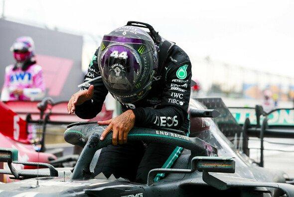 Lewis Hamilton feierte heute mit dem Sieg den siebten WM-Titel - Foto: LAT Images