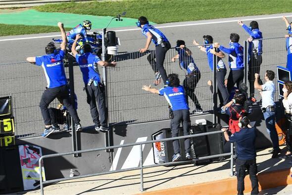 Joan Mir krönte sich in Valencia zum MotoGP-Champion - Foto: Suzuki