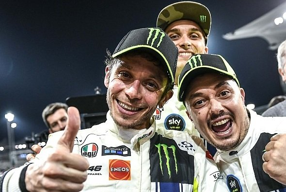 Rossi, Uccio und Marini holten beim Erstversuch einen Podestplatz - Foto: LAT Images