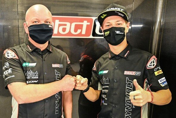 Dominique Aegerter fährt ein weiteres Jahr in der MotoE - Foto: Intact GP
