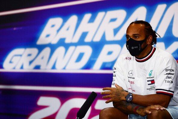 Vor dem Bahrain GP erreichten Lewis Hamilton mehrere Briefe, die sein politisches Engagement forderteten - Foto: LAT Images