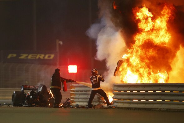 Romain Grosjeans Bahrain-Unfall änderte seine Indy-Pläne: Ovale erstmal tabu - Foto: LAT Images
