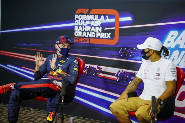 Max Verstappen ist für Red Bulls Teamchef Christian Horner inzwischen besser als Lewis Hamilton - Foto: LAT Images