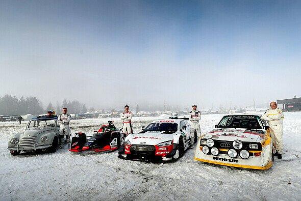 Audi präsentiert seine große Neuaufstellung im Motorsport - Foto: Audi Communications Motorsport