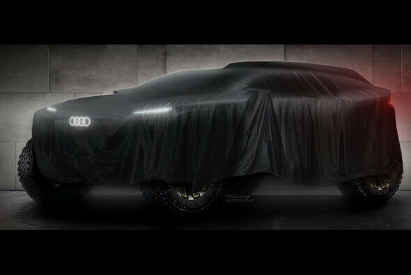 So teasert Audi sein neues Dakar-Projekt an - Foto: Audi Communications Motorsport