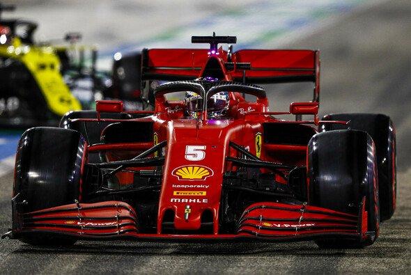Sebastian Vettel erlebte im Qualifying für den Sakhir GP der Formel 1 eine Enttäuschung - Foto: LAT Images