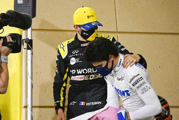 Lance Stroll musste sich in Bahrain Sergio Perez und Esteban Ocon geschlagen geben - Foto: LAT Images