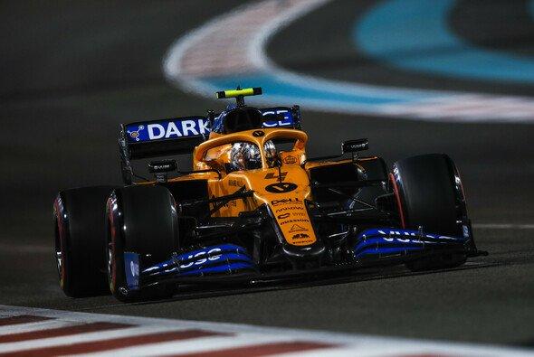 Lando Norris sorgte im Qualifying von Abu Dhabi für eine Überraschung - Foto: LAT Images