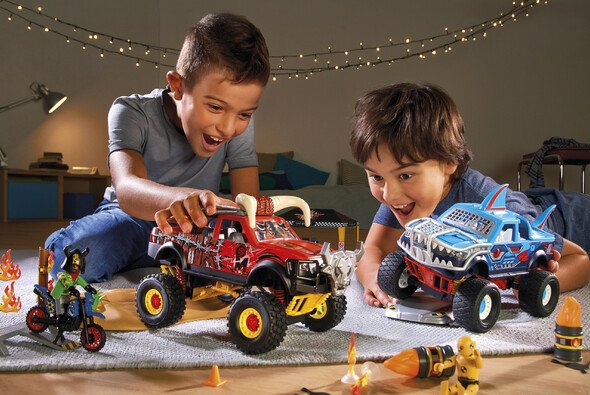 PLAYMOBIL Stuntshow: Action für kleine Racer-Herzen! - Foto: Playmobil