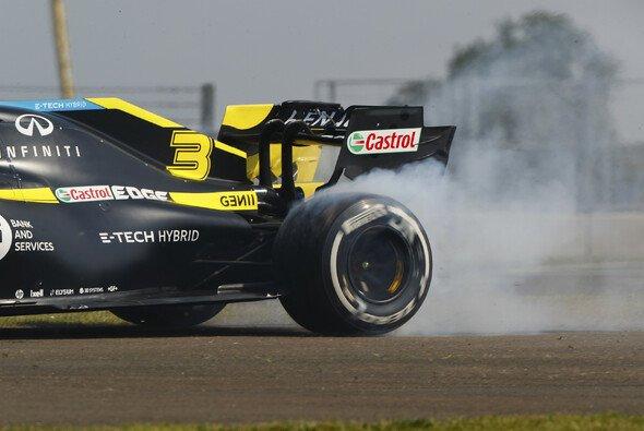 In der Formel 1 sorgen die Hinterräder für Vortrieb - Foto: LAT Images