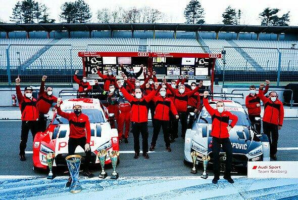 Das Team Rosberg bleibt der DTM in den kommenden beiden Jahren treu. - Foto: Audi Communications Motorsport