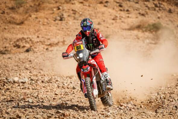 Joan Barreda erobert für Honda die Dakar-Führung - Foto: ASO/Dakar