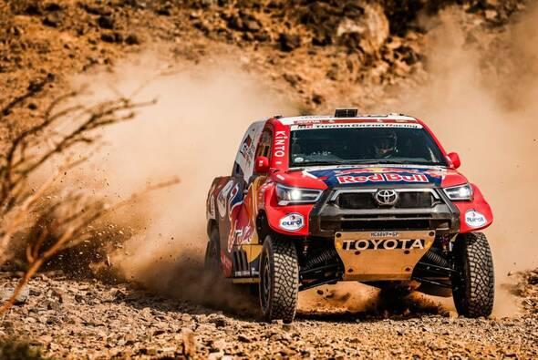 Nasser Al-Attiyah gewann die 2. Etappe im Toyota - Foto: ASO/Dakar