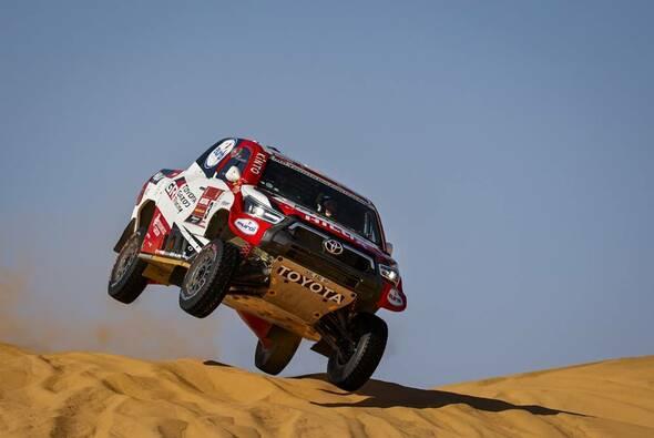 Erster Tagessieg für Giniel de Villiers in diesen Jahr - Foto: ASO/Dakar