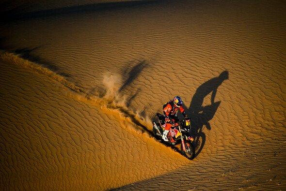 Toby Price holt seinen zweiten Etappensieg - Foto: Red Bull
