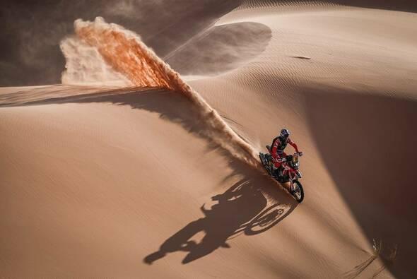 Joan Barreda gewinnt seine zweite Etappe bei der Dakar 2021 - Foto: ASO/Dakar