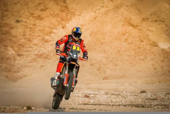 Toby Price sichert KTM wieder die Dakar-Gesamtführung - Foto: ASO/Dakar