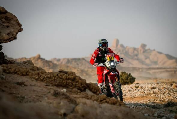 Honda liegt im Gesamtklassement nun mit drei Fahrern in Führung - Foto: ASO/Dakar