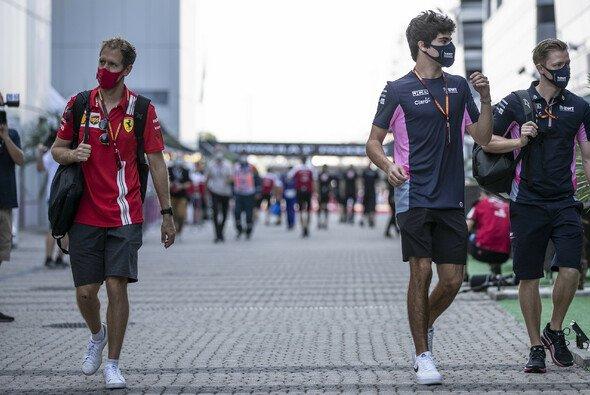 Aston Martins neues Fahrerduo: Sebastian Vettel und Lance Stroll - Foto: LAT Images