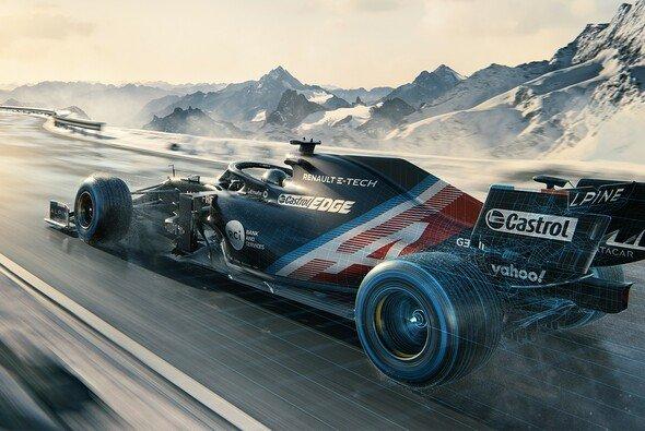 Aus Alpine wird Renault - und damit kommt auch ein neuer Look in die F1. An diesem ersten Vorgeschmack, den das Team im Januar zeigte, soll sich allerdings noch etwas ändern - Foto: Alpine