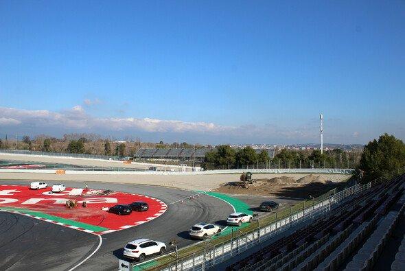 Die Bauarbeiten in Barcelona haben begonnen - Foto: Twitter/Circuit de Barcelona-Catalunya