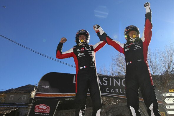 Sebastien Ogier ist nun gemeinsam mit Sebastien Loeb Rekordsieger der WRC Rallye Monte-Carlo - Foto: Toyota